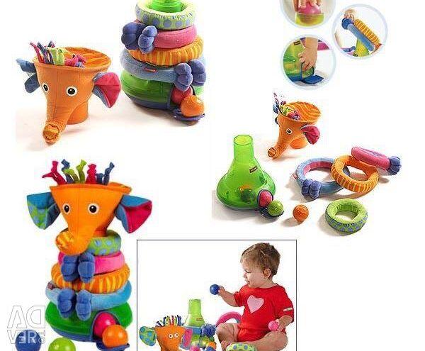 Musical pyramid Tiny Love Rainbow Elephant