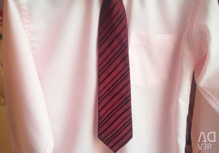 Сорочка + галстук в подарунок