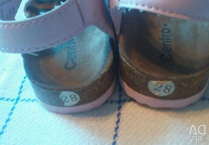 Sandals orthopedic for girls, 28 size
