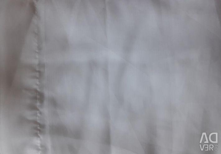 Blind curtain milky