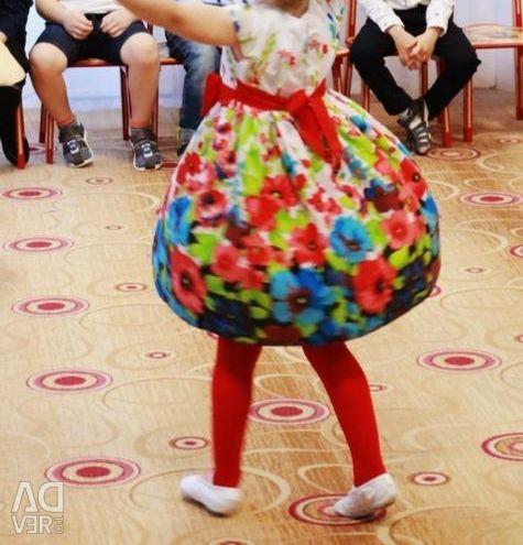 Rochie elegantă, luminată de 110 cm, plus.