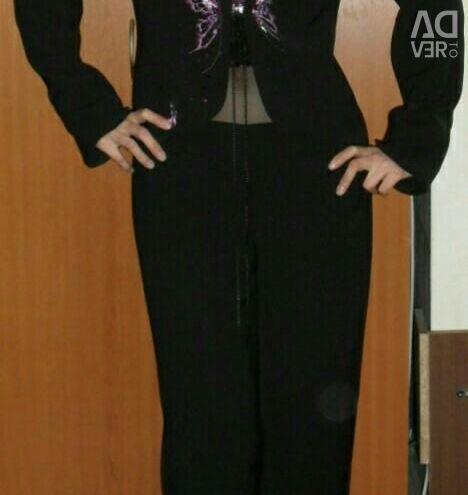 The suit is female, Belarusian, excellent