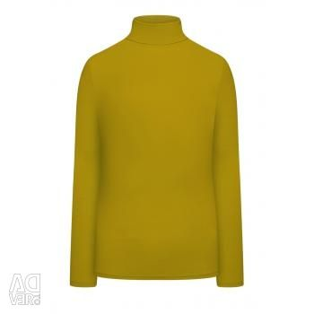 Turtleneck with olive, new