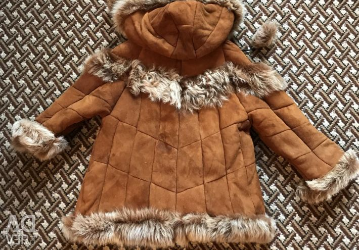 Children's sheepskin coat