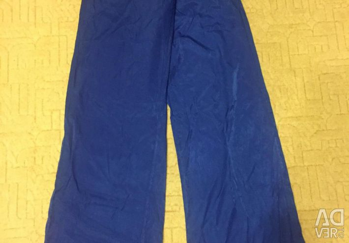 Summer flared trousers