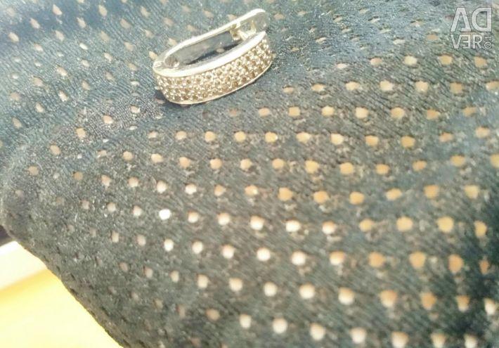 Jewelry set earrings + ring