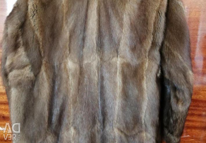 Fur coat mink
