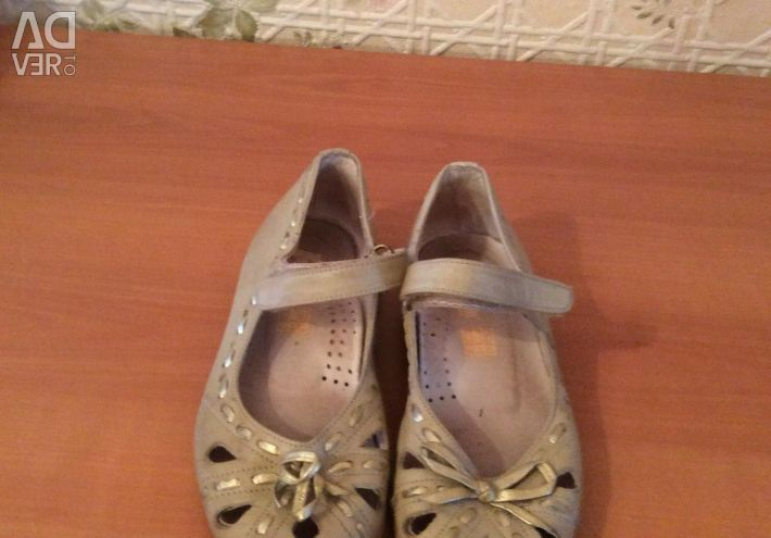 Shoes leather p 28