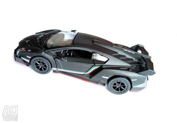 Машинка Lamborghini Veneno матовий (метал)