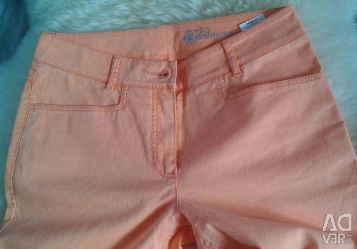 New coral jeans Steilmann