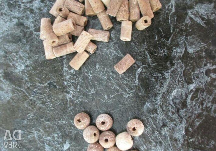 Χάντρες από ξύλο