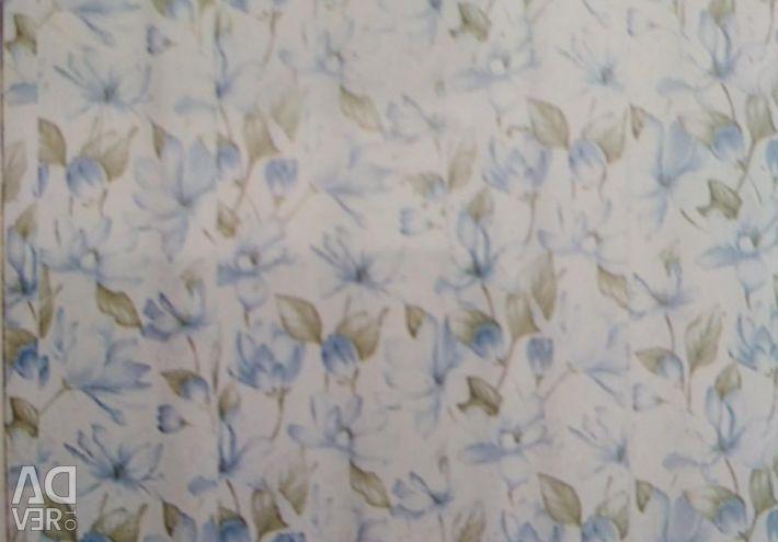 Shutter (curtain) for a bathroom fabric