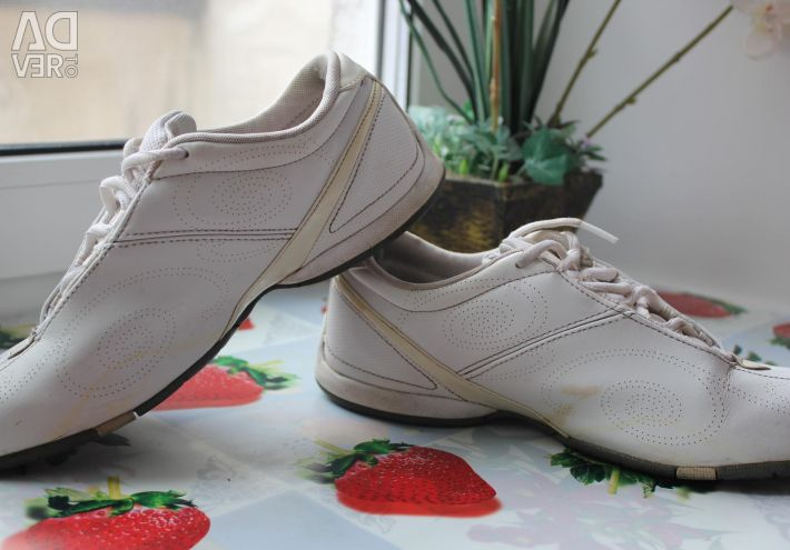 Nike sneakers leather p 38