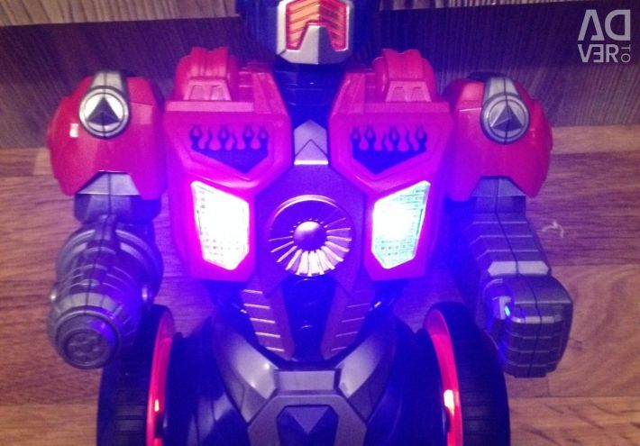 Optimus Prime radio-controlled with light and sound