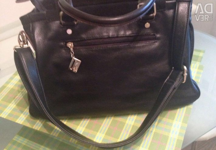 Bag Westfalika, genuine leather + suede ?? new