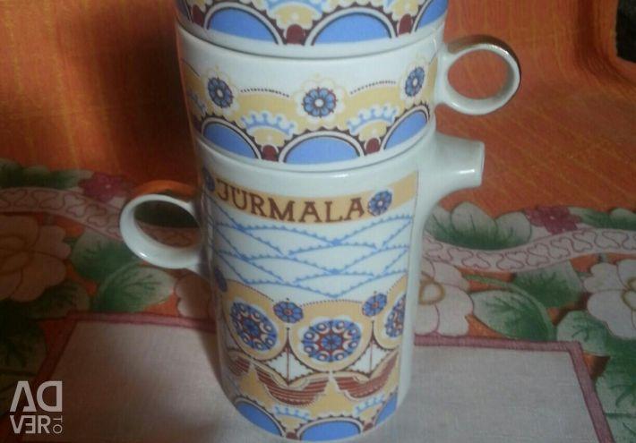 Set coffee with gold Yurmala Riga