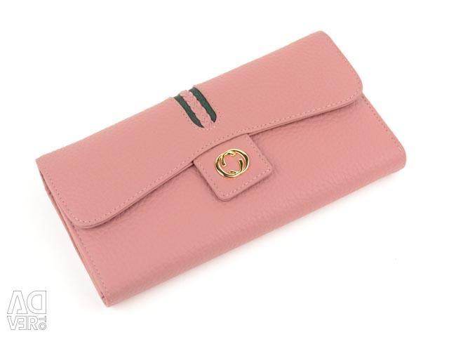 Women's wallet genuine leather