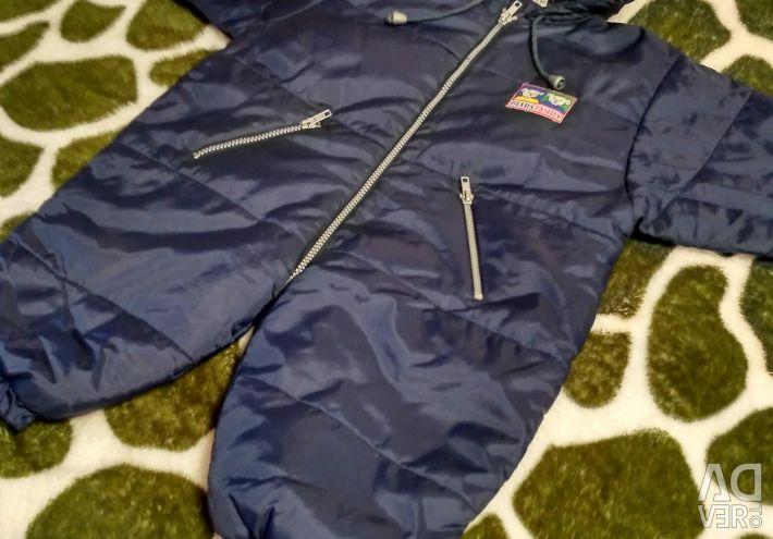 Children's overalls, spring-autumn, solution 74-80