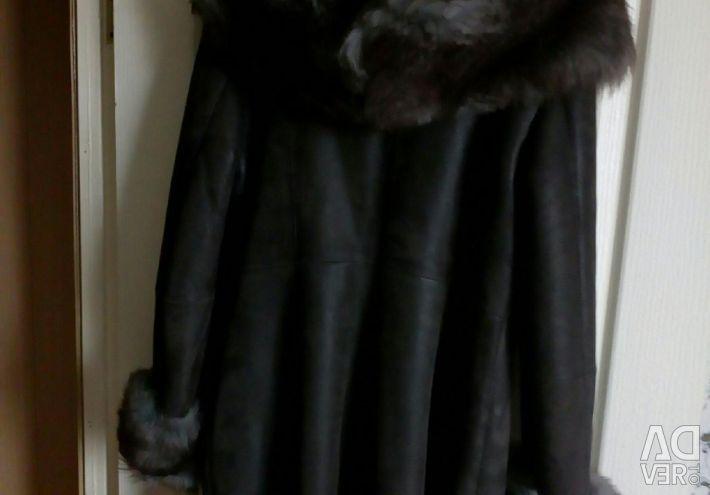 Palton natural de oaie 46-48 dimensiuni