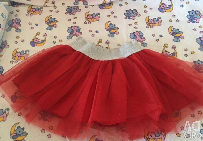 T-shirt with a skirt