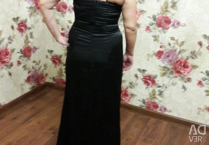 NEW Satin Evening Dress