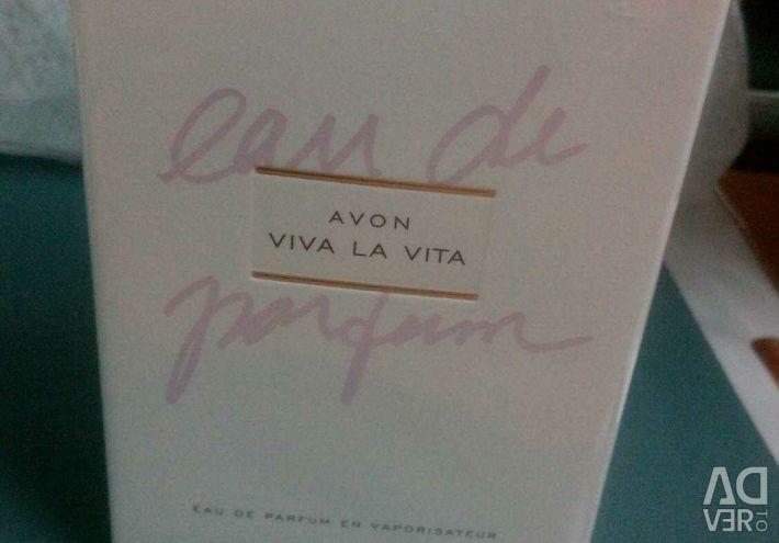 Perfumery water from Avon 50ml.