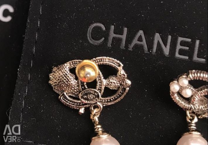 Chanel ❤️ Earrings pouches, original, new