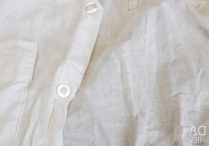 Linen shirt for a teenager 10-12 years
