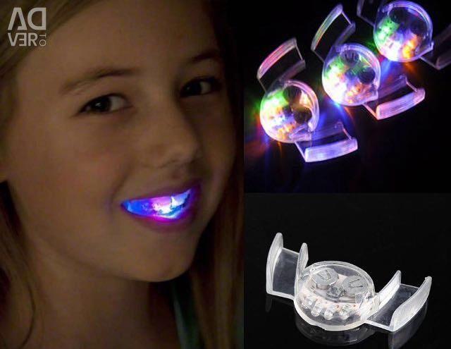 Led teeth highlighting