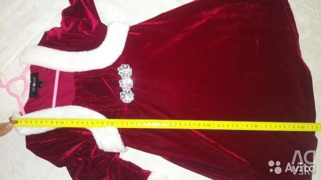 New velvet dress elegant Amy Byer 107-122