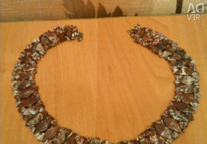 Beads - necklace of jasper