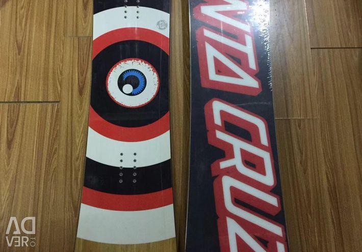 Snowboard santa cruz