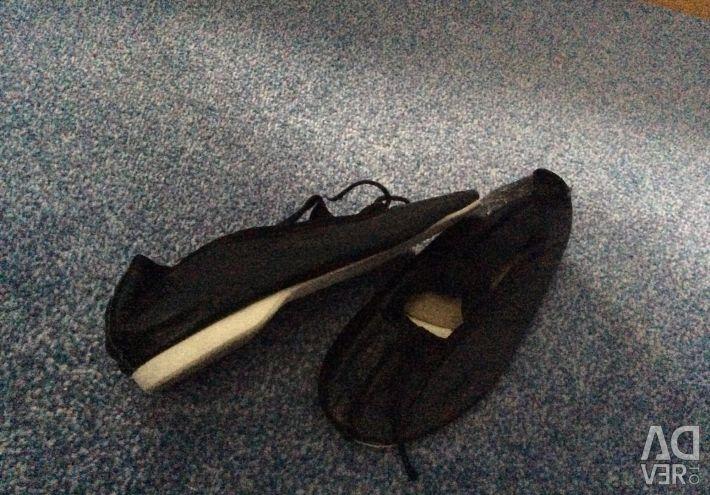 Pantofi de dans din piele