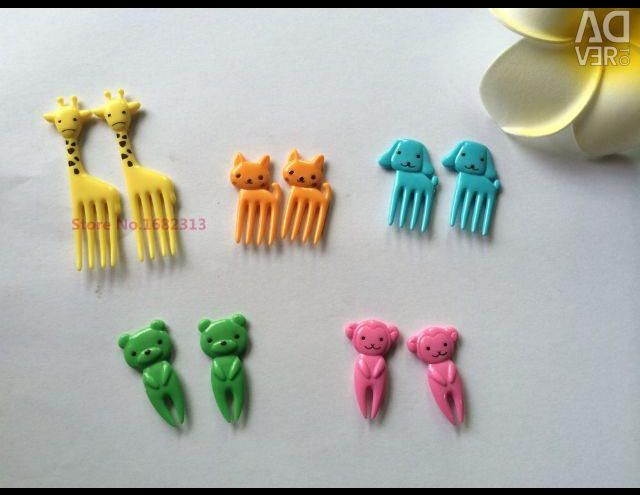 Children's forks for fruit