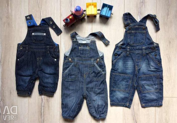 Jeans Overalls