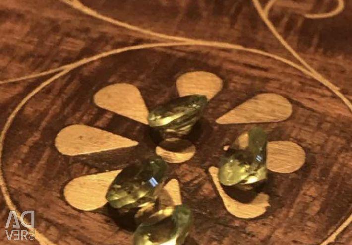 Natural chrysolite