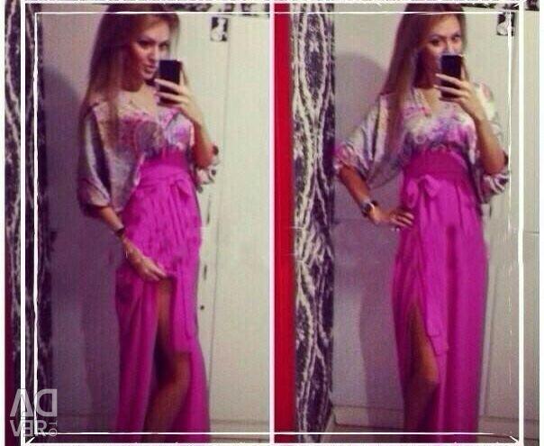 Dress with neckline