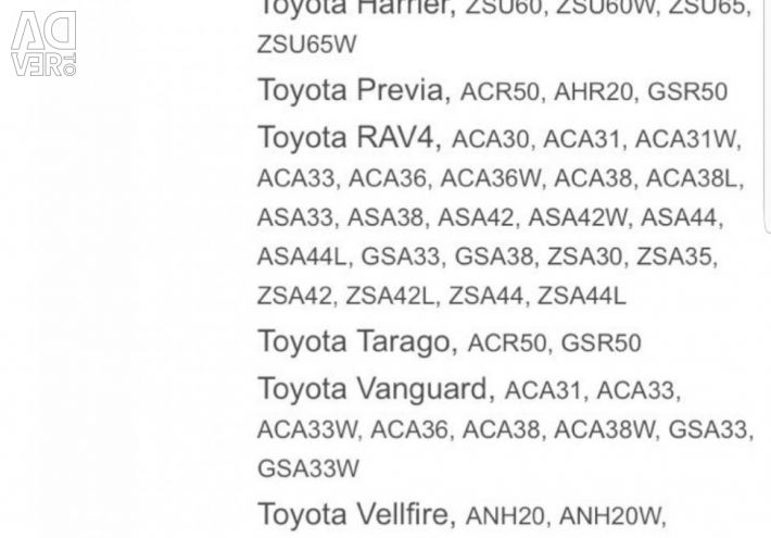 New Toyota Cooling Radiator