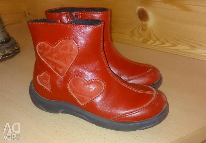 Boots for the girl size 27
