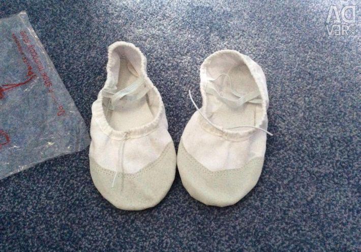 Παπούτσια μπαλέτου (τσέχικα) για χορογραφία