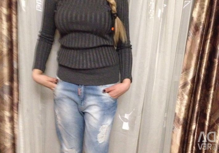 Jeans Turkey and turtleneck new