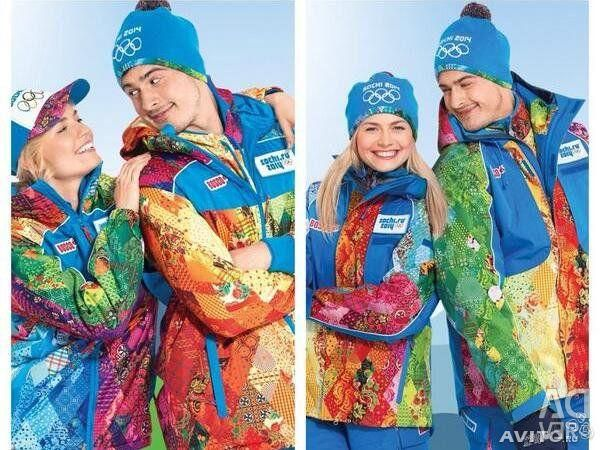Olympic clothes and sneakers for Sochi 2014
