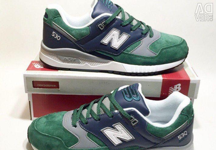 Σημείωση 530 πράσινο με μπλε