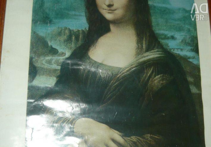 Mona Lisa'nın fotoğrafı 1979