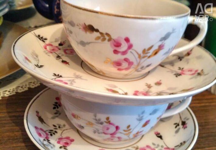 Perechea de ceai DfZ 2 perechi