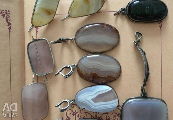 Прикраси з натуральними каменями руч