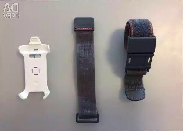 Phone holder on hand. New. Exchange.