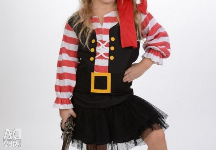 Pirate and Snow Maiden Costumes