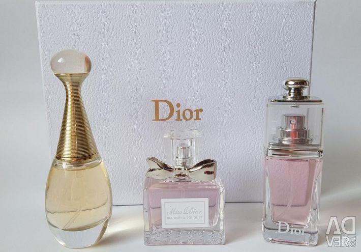 Подарочный набор парфюмерии Christian Dior 3в1🌸🌸
