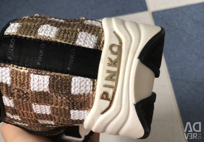 Pinko Sneakers Slip On Sequins Original